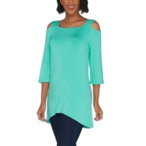 Open Shoulders Tunic with Straps Size 2X